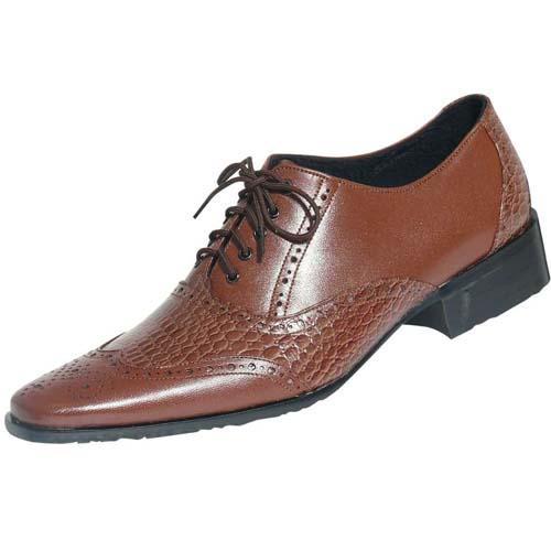 Sepatu Kantor Pantofel Kulit Asli Pria Coklat   Toko Jual ...